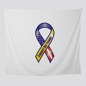 Support Our Troops - Ribbon Wall Tapestry
