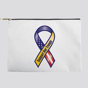 Support Our Troops - Ribbon Makeup Bag