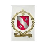 GREGOIRE Family Crest Rectangle Magnet (100 pack)