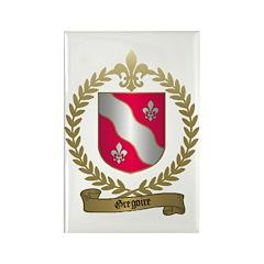 GREGOIRE Family Crest Rectangle Magnet (10 pack)