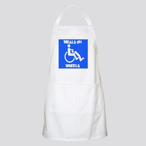 Meals on wheels BBQ Apron