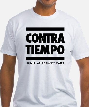 CONTRA-TIEMPO Fitted Men's Tshirt