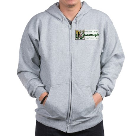 Kavanaugh Celtic Dragon Zip Hoodie