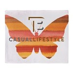 BT Butterfly Throw Blanket