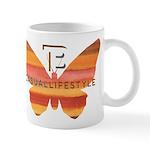 BT Butterfly Mugs