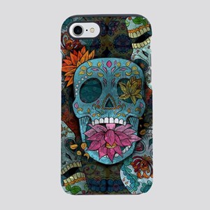 Sugar Skulls Design iPhone 8/7 Tough Case