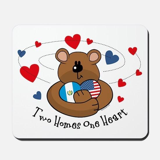 2 Homes 1 Heart Guatemala Mousepad