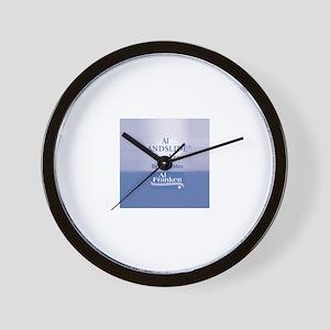 FRANKEN Landslide Wall Clock