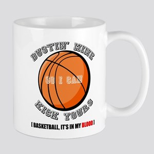 Busting Ass Basketball Mug