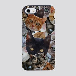 Kitty Collage iPhone 8/7 Tough Case