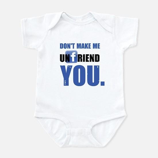 Unfriend Infant Bodysuit
