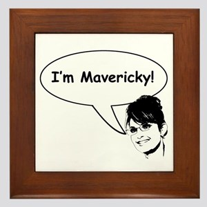 Mavericky Framed Tile