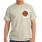 Laceville Fire Department Light T-Shirt
