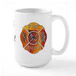 Laceville Fire Department Large Mug