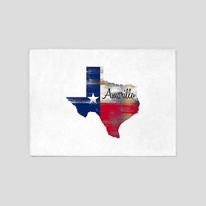Amarillo Texas 5'x7'Area Rug