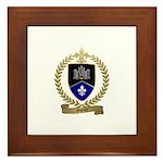 GUERET Family Crest Framed Tile