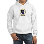 GUERET Family Crest Hooded Sweatshirt
