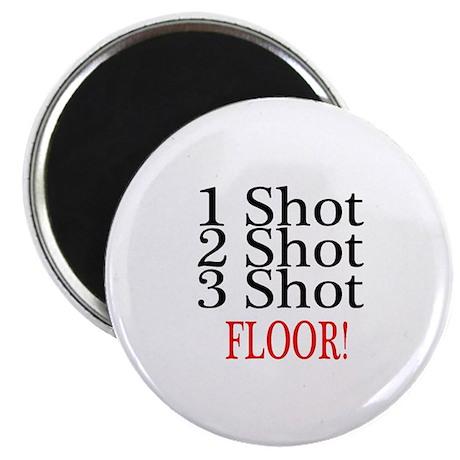 1 Shot 2 Shot 3 Shot Floor Magnet
