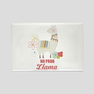 No Prob Llama Custom Text Magnets