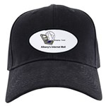 Albany's Internet Mall Black Cap With Patch