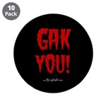 "My Living Dead Girl - 3.5"" Button (10 pack)"