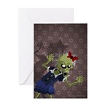 My Living Dead Girl - Greeting Card