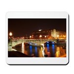 Nighttime on Bridge. Mousepad