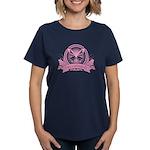 Antisocial Butterfly Pink T-Shirt Dark
