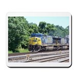 CSX Q190 Doublestack Train Mousepad