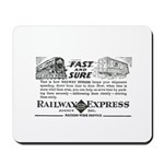 Fast & Sure-Railway Express Mousepad