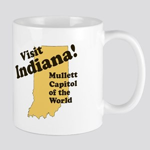 Visit Indiana, Mullet Capitol Mug