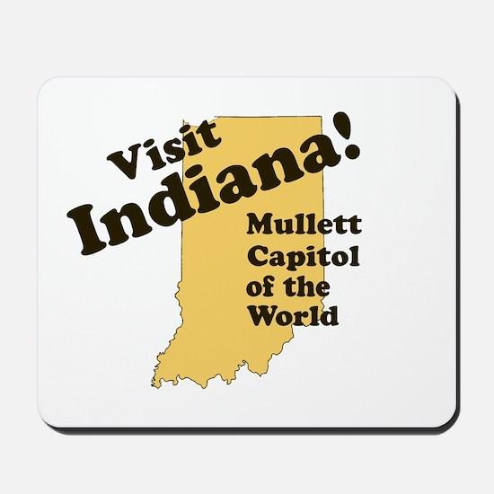 Visit Indiana, Mullet Capitol Mousepad