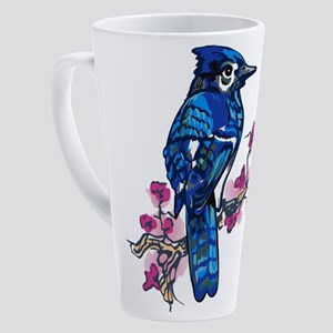 Blue Jay 17 oz Latte Mug