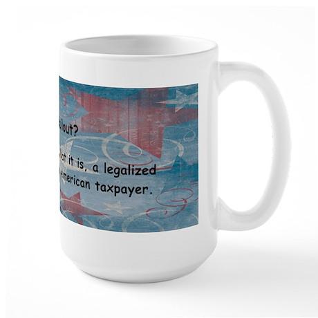 America Stand Up Large Mug
