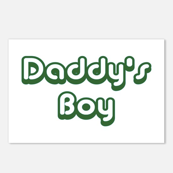 Daddy's Boy Postcards (Package of 8)