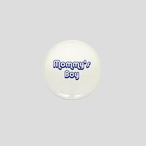 Mommy's Boy Mini Button
