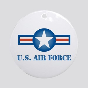 Air Force Roundel Ornament (Round)