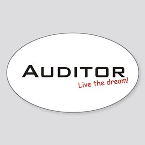 Auditor / Dream! Oval Sticker