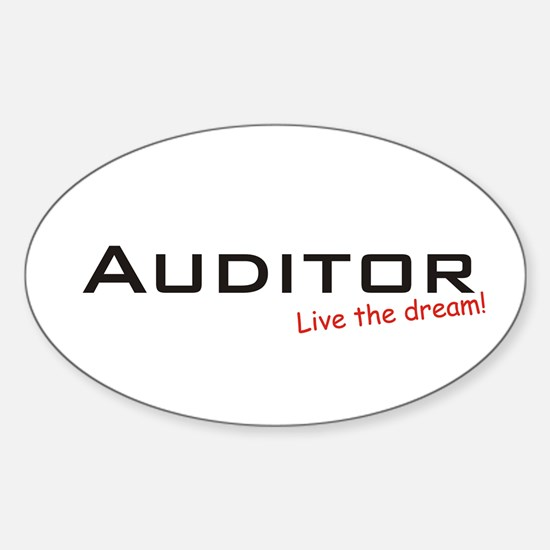 Auditor / Dream! Oval Decal