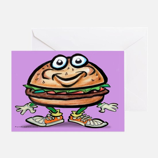Unique Meaty Greeting Card