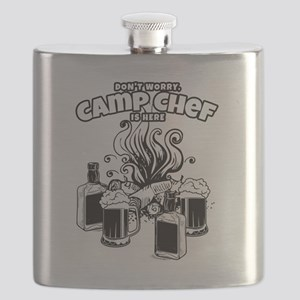 Camp Chef Gift for Summer Campsite Cooks and Flask