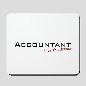 Accountant / Dream! Mousepad
