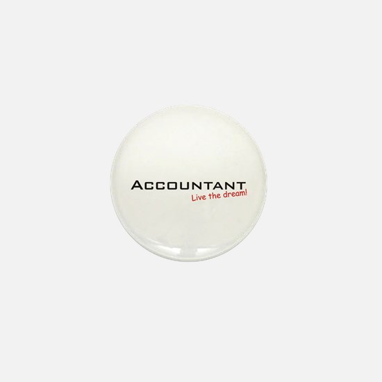 Accountant / Dream! Mini Button