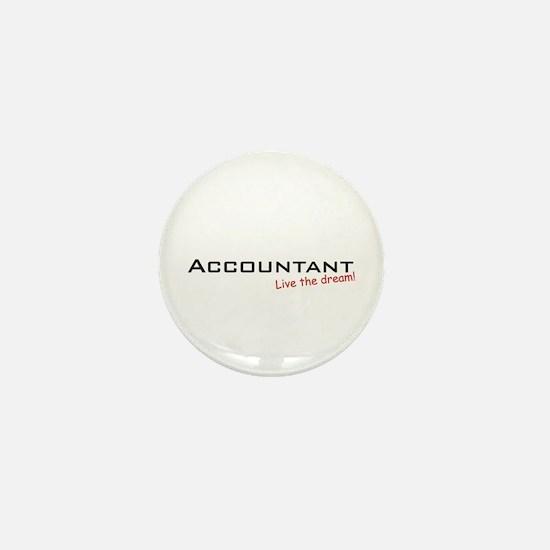 Accountant / Dream! Mini Button (10 pack)
