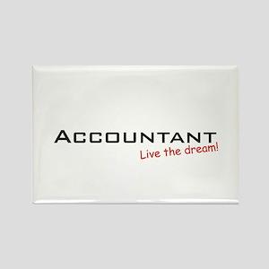 Accountant / Dream! Rectangle Magnet