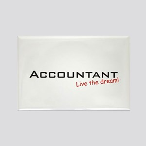 Accountant / Dream! Rectangle Magnet