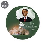 "The American Dream 3.5"" Button (10 pack)"