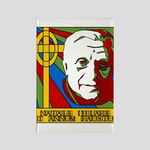 Pope Benedict XVI Catholic Christmas Rectangle Mag