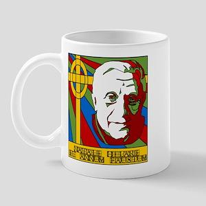 Pope Benedict XVI Catholic Christmas Mug