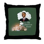 American Dream Throw Pillow